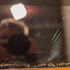 iPad 3 with broken glass