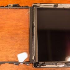 iPad 3 opened as a book