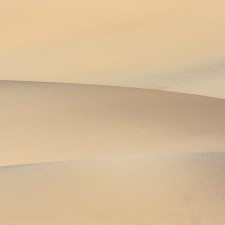 Death Valley Dunes in fall - 1