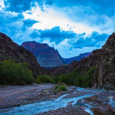 En route to Colorado river (Grand Canyon) through the Hualapai Indian Reservation