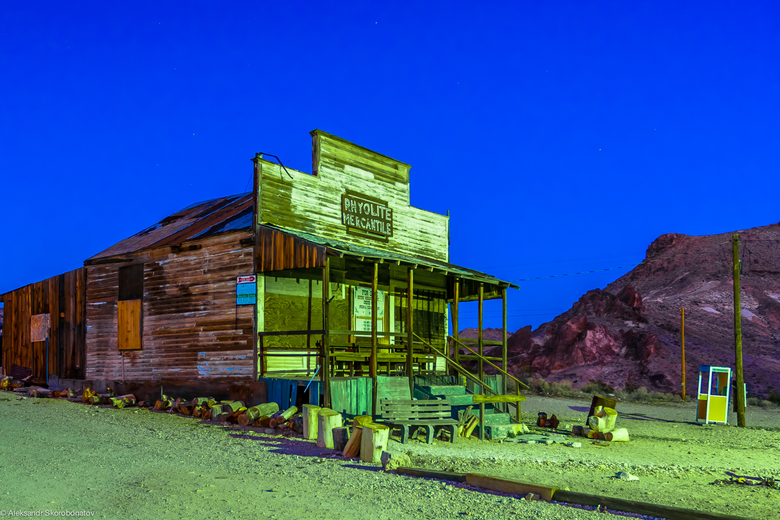 Rhyolite Mercantile, a ghost store of a ghost town