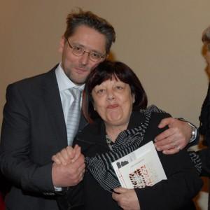 "Aleksandr Skorobogatov during the International Literary Award XXXIV Premio ""Città di Penne - Mosca"" (Italy)"